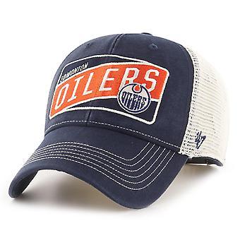 47 Brand Trucker Snapback Cap - VINTAGE Edmonton Oilers
