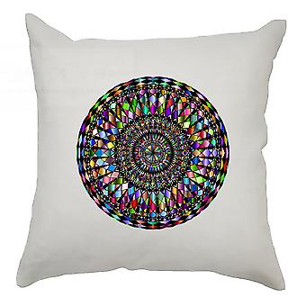 Colourful Cushion Cover 40cm x 40cm - Colourful Circle 4