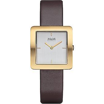 M&M Germany M11956-512 Square line Ladies Watch