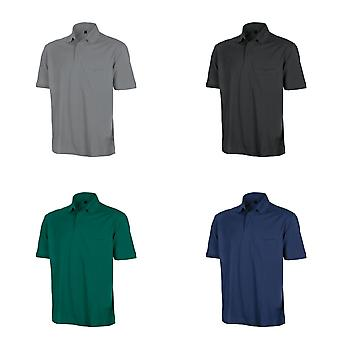 Result Mens Work-Guard Apex Short Sleeve Polo Shirt