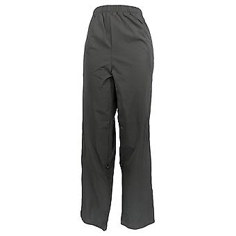 Magellan Women's Pants Pull-On Elastic Waist Black
