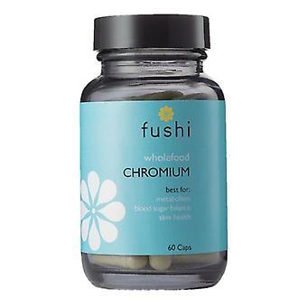 Fushi Välbefinnande Hela livsmedel Krom Veg Caps 60 (F0021205)