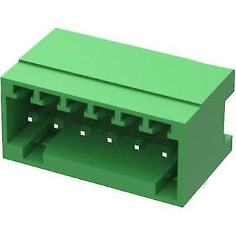 Degson Socket enclosure - PCB 15EDGRC Total number of pins 12 Contact spacing: 2.50 mm 15EDGRC-2.5-12P-14-00AH 1 pc(s)