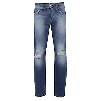 Wahre Religion Geno Mid Blue Slim Fit Jeans