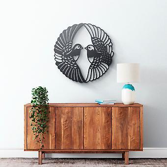 Arte della parete in metallo - Uccelli
