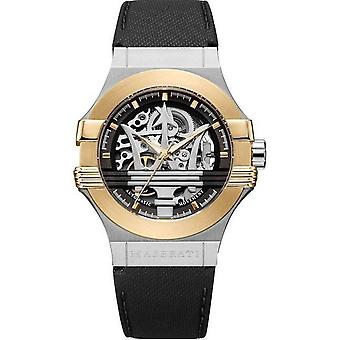 Maserati R8821108011 Potenza Automatic Skeleton Dial Men's Watch