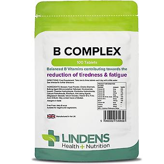 Lindens B-vitamiini Monimutkainen Tabletit 100 (656)