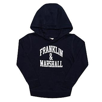 Boy's Franklin And Marshall Infant F and M Hoody in Blue