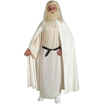 Costume bianco adulto di Gandalf