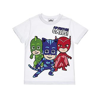 Alouette Boys' Pj Masks Shirt With Print