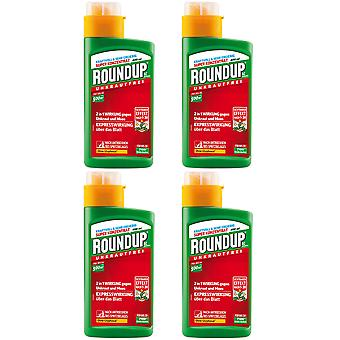 Sparset: 4 x ROUNDUP® AC Concentrate, 400 ml