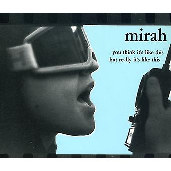 Mirah - You Think Its Like This But Re [CD] USA import