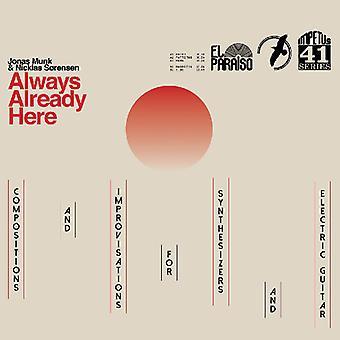 Always Already Here [CD] USA import