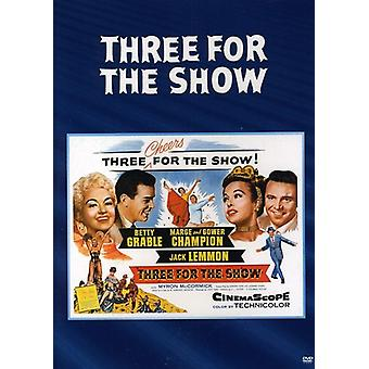 Three for the Show [DVD] USA import