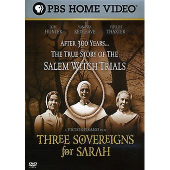 Three Sovereigns for Sarah [DVD] USA import
