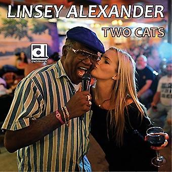 LINSEY Alexander - importación de Estados Unidos dos gatos [CD]