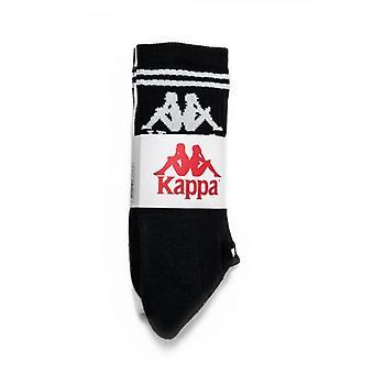 Kappa Black & White 3-Pack Sock