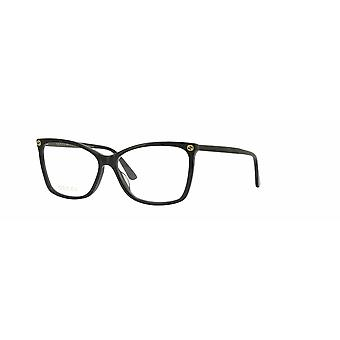 Gucci GG0025O 008 Black Glasses