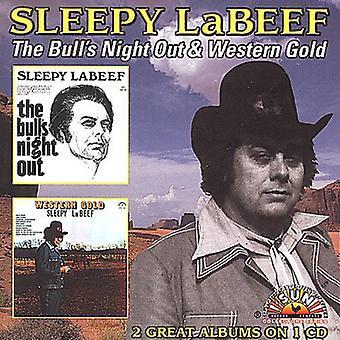 Sleepy Labeef - Bulls natt Out/Western guld [CD] USA import