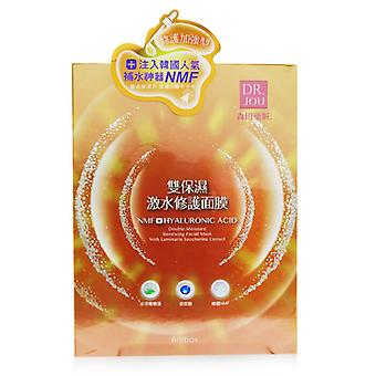 Nmf+ Hyaluronic Acid Double Moisture Renewing Facial Mask - 6pcs