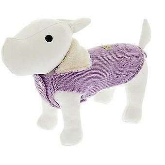 Ferribiella Pullover Mit Knöpfen Cm.21 Violett