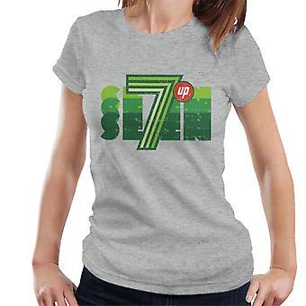 7UP Retro Seven Logo Kvinnor & Apos; s T-shirt