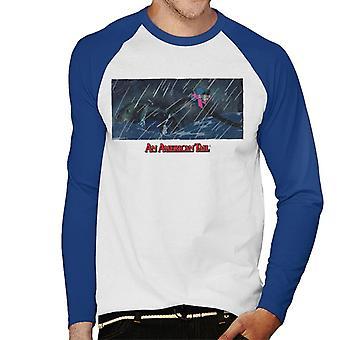 An American Tail Fievel Holding On Men's Baseball Long Sleeved T-Shirt