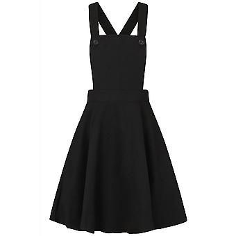Hell Bunny Amelie Pinafore Dress