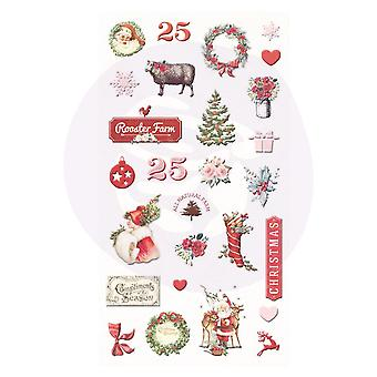 Prima Marketing Christmas In The Country Puffy Stickers