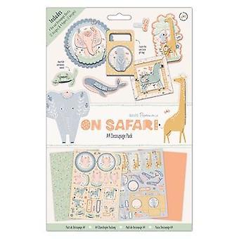 Papermania On Safari A4 Decoupage Pad