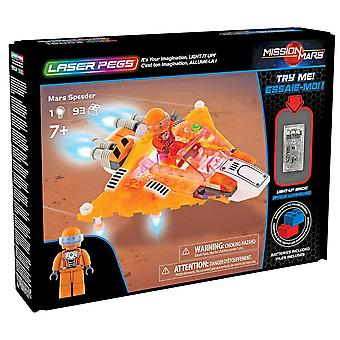 Laser pegs - mission mars - mars speeder