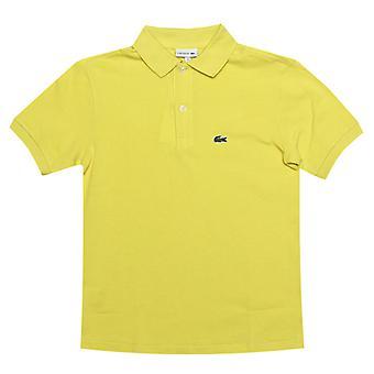 gutt&s lacoste junior polo skjorte i gul
