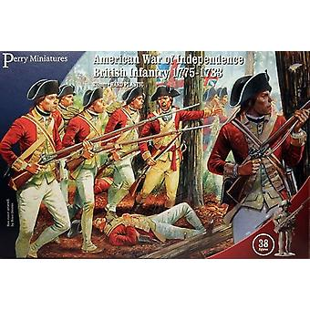 Perry Miniatures American War of Independence British Infantry 1775-83