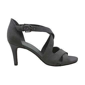 Bandolino Womens jerigoa2 Fabric Peep Toe Formal Ankle Strap Sandals