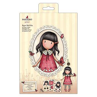 Gorjuss Papier Doll Kit Time To Fly