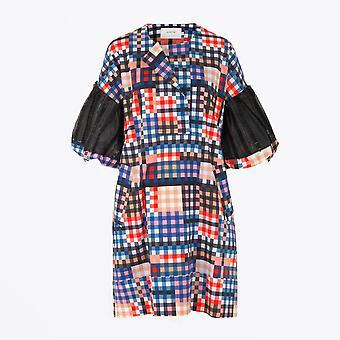 Munthe  - Ludovika - Cotton Checked Dress - Multi