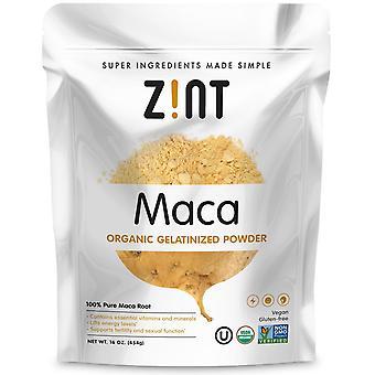 Zint, Maca, Organic Gelatinized Powder, 16 oz (454 g)