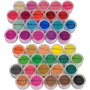 SHANY Eye Sparkle/Eye Shadow losse poeder-set van 40 kleuren