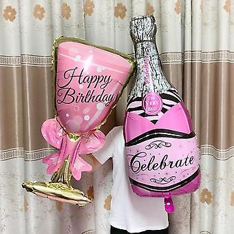 بالون الشمبانيا كأس لحضور حفل زفاف