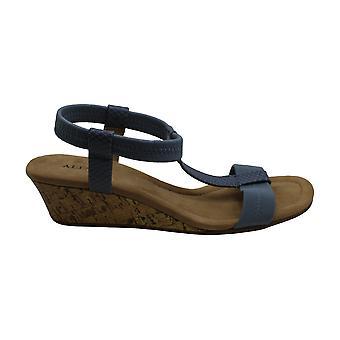 Alfani Womens Voyage Open Toe Casual T-Strap Sandals