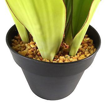 70cm künstliche Sansevieria Moonshine Pflanze