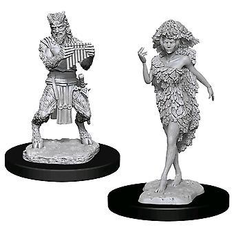 D & D Nolzur's Marvelous Maalaamaton Minis Satyr & Dryad