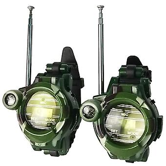 2pcs Military Watch Walkie Talkies,  Outdoor Activity Toys