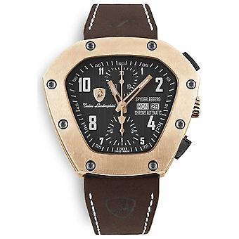 Tonino Lamborghini - wristwatch - men - Spyderleggero Chrono - rose gold - TLF-T07-5