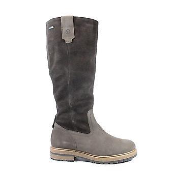Tamaris 26622 Brown Suede/Leather Womens Waterproof Long Leg Boots