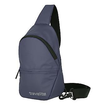 Travelite Basics petit crossover sac à dos bâche 29 cm, bleu