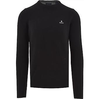 GANT Schwarz Waben Sweatshirt