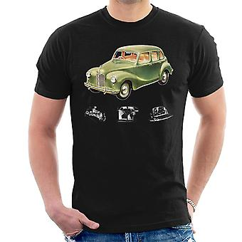 Austin X Ray Interior British Motor Heritage Men's T-paita