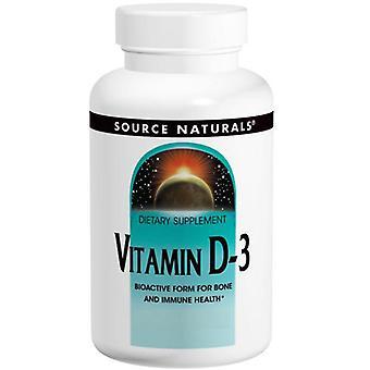 Kilde Naturals Vitamin D-3 1000 IE, 200 softgels