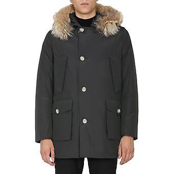Woolrich Woou0270mrut0108phm Men's Blue Cotton Outerwear Jacket